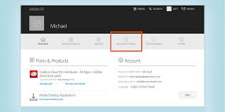 Adobe Plans Manage Your Adobe Id Account