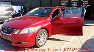 parting out 2006 lexus gs 300 stock 3016yl tls auto recycling