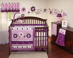 Purple Nursery Bedding Sets by Purple Crib Bedding Sets For Girls Spillo Caves