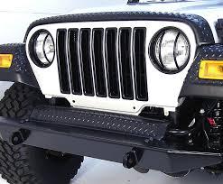 matte black jeep 2 door grille inserts black 97 06 jeep wrangler tj jeep wrangler 2