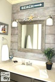 themed mirror attractive design nautical bathroom mirror simple ideas coastal