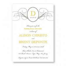 Rehearsal Dinner Invitations Rehearsal Dinner Invitations