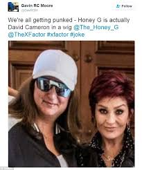 Meme G - is x factor rapper honey g really david cameron in disguise daily