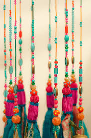 turquoise home decor mobile bells décor wind chime ceiling