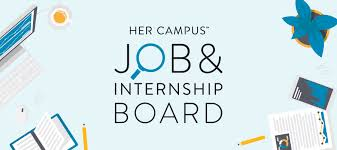 job u0026 internship board her campus