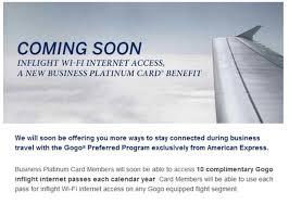 Business Platinum Card Amex Receive Free Wifi With American Express Business Platinum Card