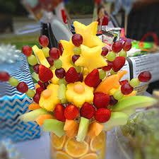 fruit floral arrangements how to make a 100 fruit bouquet 20 juju sprinkles