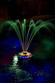 battery operated floating pool lights battery operated floating pool fountain and light show by game