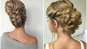2016 fall 2017 winter updo hair ideas youtube