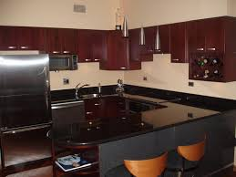 Cherry Wood Kitchen Cabinets With Black Granite Wood Kitchen Cabinets With Black Granite Cherry Kitchen Cabinets