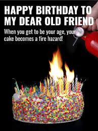 fire hazard funny birthday card for friends birthday u0026 greeting