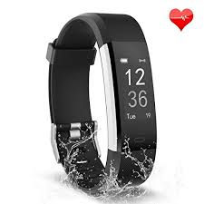 bracelet with heart rate images Fitness tracker waterproof activity tracker heart rate monitor jpg