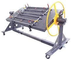 Strong Hand Welding Table Tdq54830 K1 Strong Hand Rhino Portable Welding Table Jig Fixture
