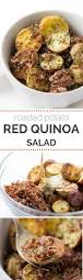 quinoa thanksgiving stuffing roasted potato red quinoa salad simply quinoa