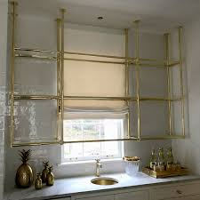 where to buy glass shelves for kitchen cabinets custom brass and glass kitchen shelving karpaty cabinets