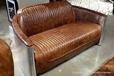 Vintage Brown Leather Armchair Aluminum Leather Sofas Ebay