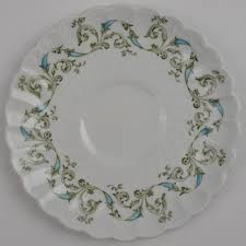 johnson brothers minuet saucer made in replacement china
