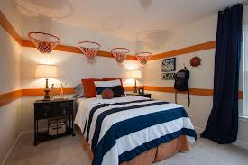 Basketball Bedroom Furniture by This Lennar Kid U0027s Room In Moncks Corner Sc Is A Slam Dunk