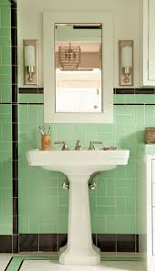 Green Tile Bathroom Ideas by Best 25 Art Deco Bathroom Ideas On Pinterest Art Deco Home Art