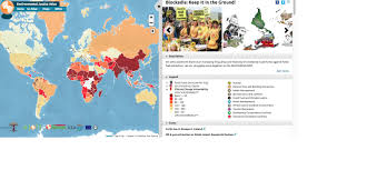 Gas Map Map Reveals Global Scale Of Anti Fossil Fuel Movement