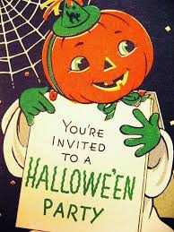 vintage halloween party invitations disneyforever hd