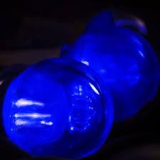 smooth blue g40 led bulb e12