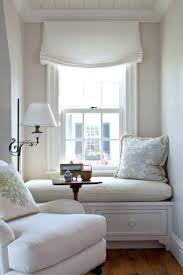 Fold Up Curtains Bedroom Shades Cozy Reading Nook With Stunning White