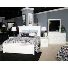 b139 57 ashley furniture bostwick shoals white queen panel bed