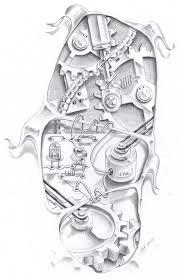 sand clock tattoo designs steampunk gears tattoo steampunk clock tattoo designs steampunk