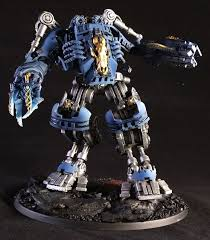 Vallejo Game Color Wash - space wolf dreadnought kit bash 14