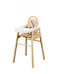 chaise bebe en bois chaise haute lili