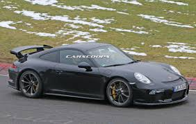 widebody porsche gt3 fourtitude com facelifted 991 2 porsche 911 gt3 and gt3 rs spied