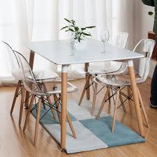 Eames Chair Dining Table Eames Dining Table Oak Dining Table And Eames Chairs Verona 150cm