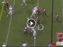 Braxton Miller Meme - braxton miller with the nastiest spin move you ll ever see daily snark