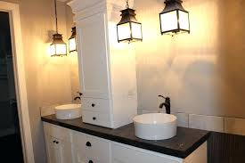 farmhouse bathroom lighting ideas farmhouse bathroom lighting gusciduovo com