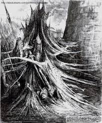 masianis andrzej original artwork sauron gandalf vampire