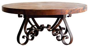 Copper Top Coffee Table Coffee Tables Ideas Admirable Hammered Copper Table Round With