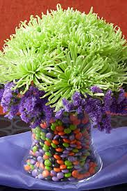 Candy Vases Centerpieces How To Make Halloween Centerpieces Julie U0027s Floral Lifestyle Blog