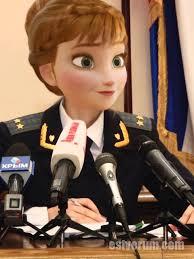 Natalia Poklonskaya Meme - frozen s anna is crimea s natalia poklonskaya at your service