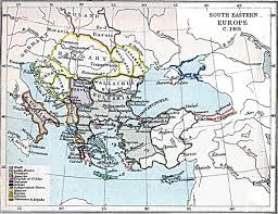 Map Of Eastern Europe by South Eastern Europe Map 1401 A D Full Size