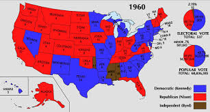 chicago voting map united states presidential election 1960