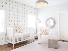 White Nursery Decor Stunning White Nursery Decor Features White And Gender Neutral
