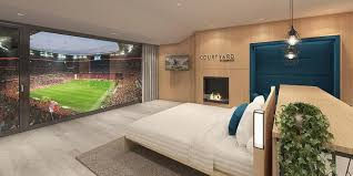hotel avec service en chambre chambre avec vue sur le terrain de l allianz arena ostadium com