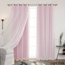 Light Pink Blackout Curtains Home Mix And Match Blackout Blackout Curtains Panel Set 4