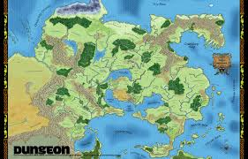 Fantasy World Maps by Roleplaying Game Links Orbitalflower