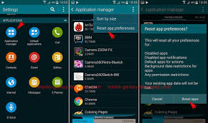 reset android to default samsung galaxy s5 how to reset app preferences in android 4 4 2 kitkat