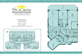 02 floor plan st croix condos floor plan 3145 s atlantic ave 32118 daytona