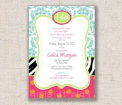 invitation wording for bridal shower free printable invitation