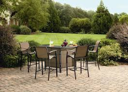garden oasis harrison 5 piece bar set with copper frame 279 99