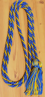 royal blue gold graduation honor cords 1 10 ea